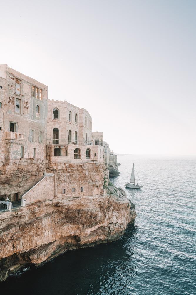 Italian Cliffside Print