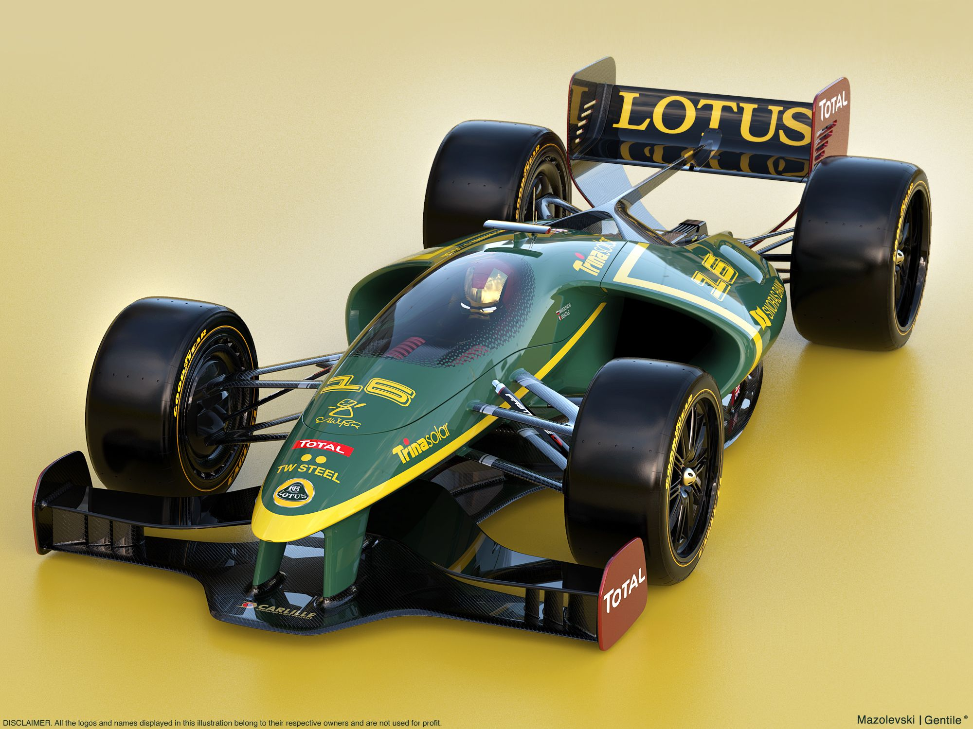 Lotus F1 Vlad Mazolevski And Matteo Gentile Collab On Behance