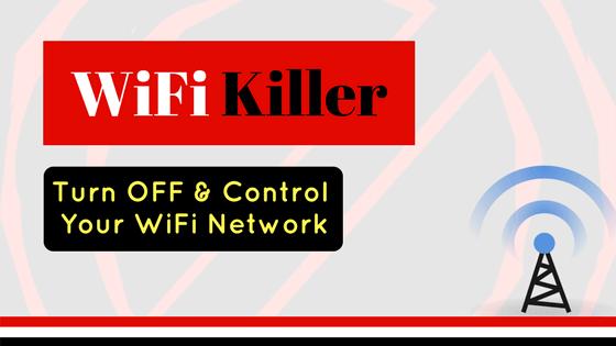 Wifi Killer APP Free Download | Wifi Kill Pro APK | WifiKill | Wifi