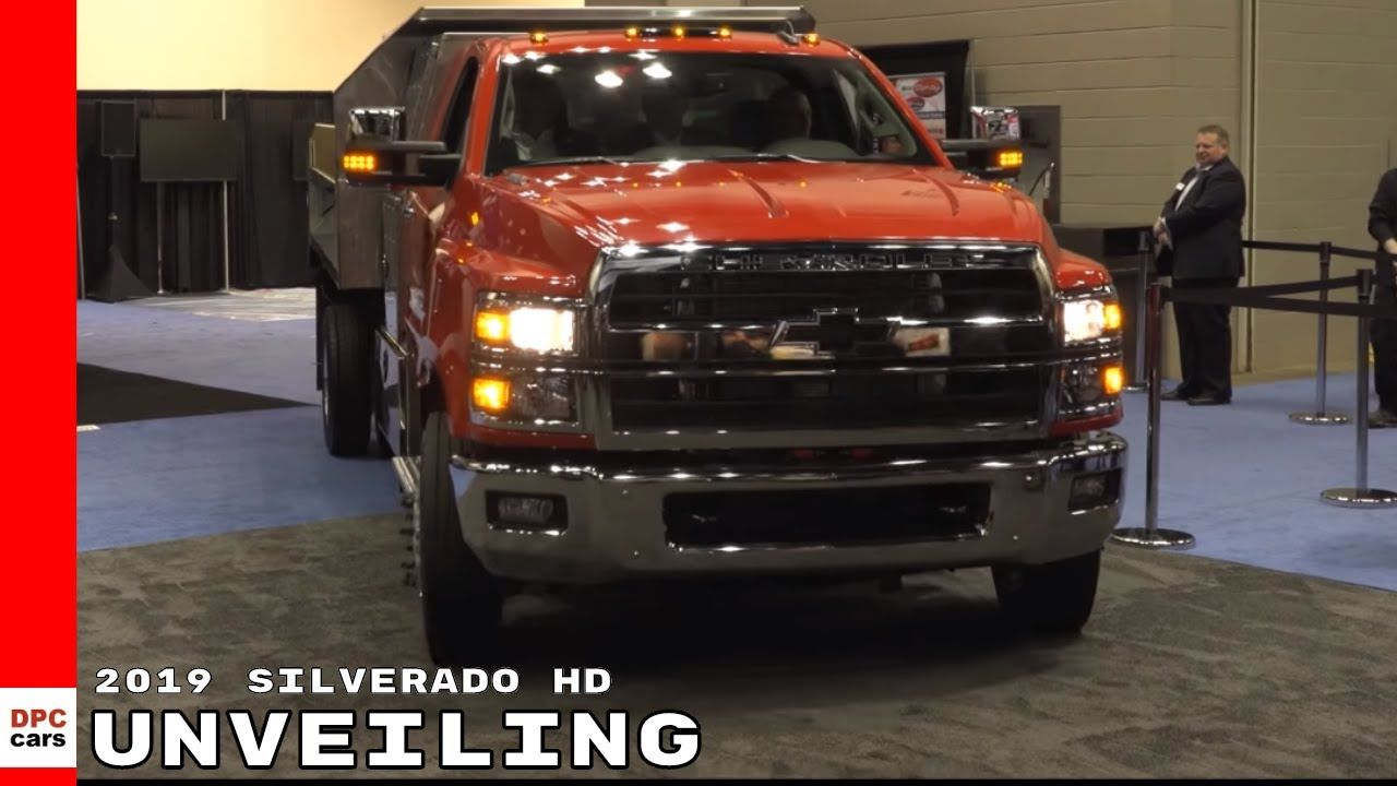 2019 Chevrolet Silverado 4500hd 5500hd And 6500hd Unveiling Vehiculos Motores
