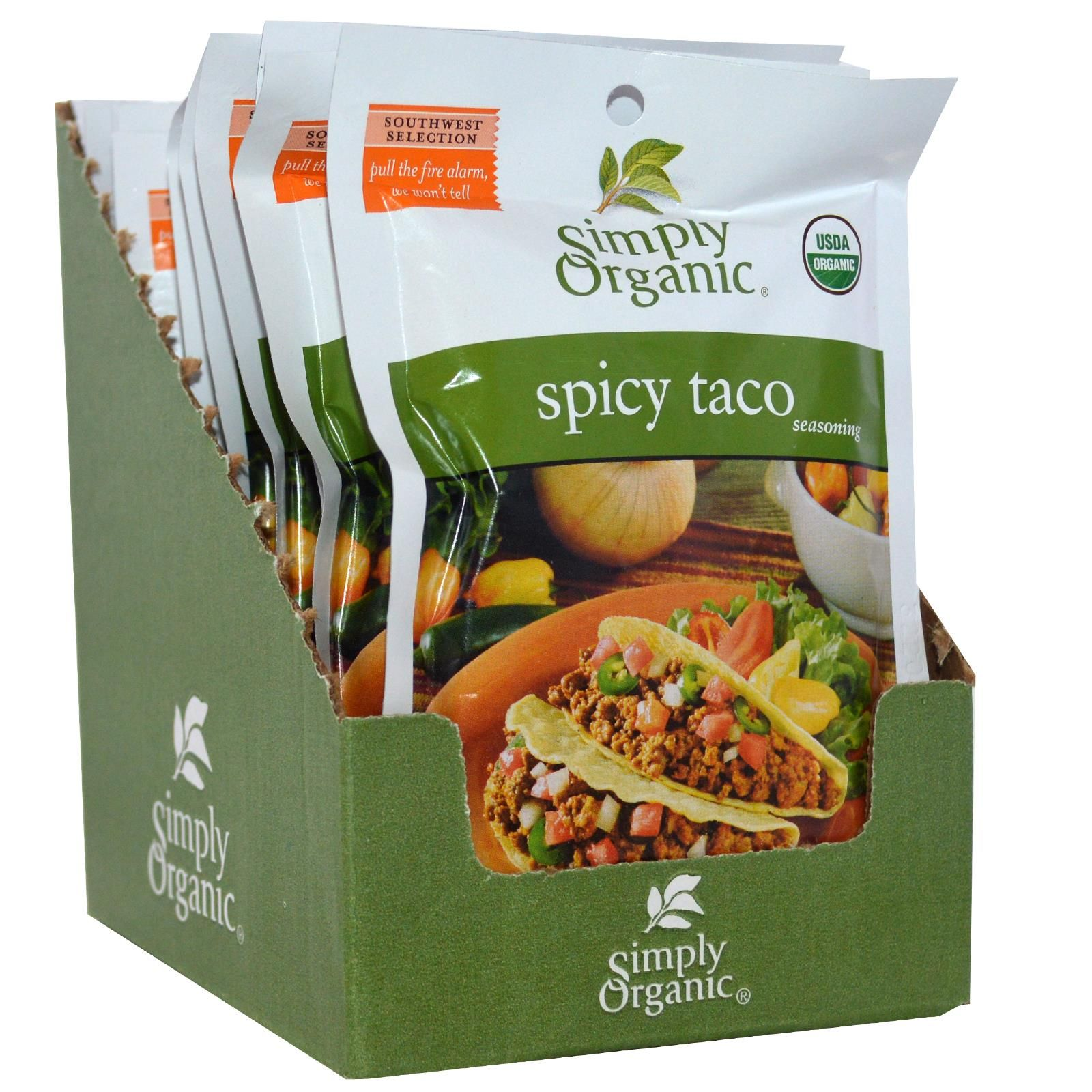 what is in a packet of taco seasoning