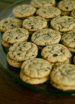 Andes Creme de menthe cookies. Trying it tomorrow.