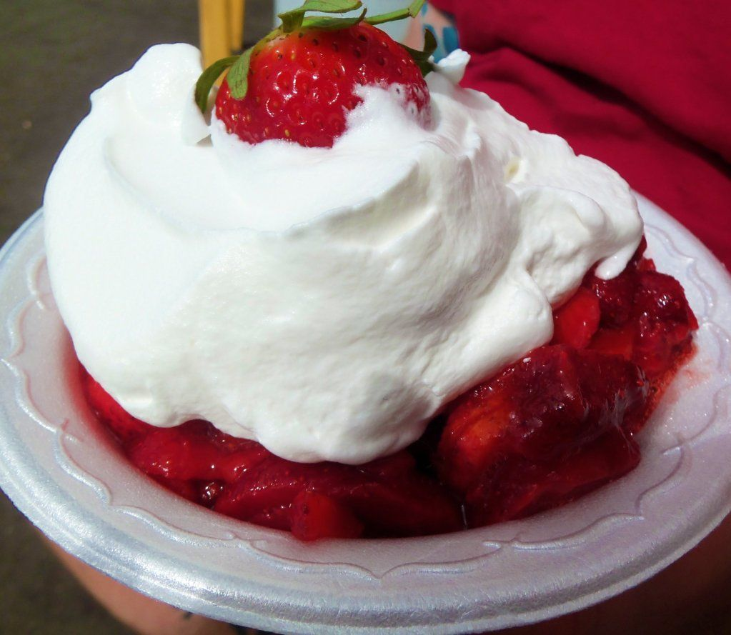 Strawberry Shortcake At The Florida Festival