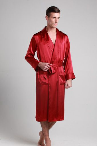 e4531da74d Shop for claret color natural silk robes for men which are made jpg 340x510 Red  silk