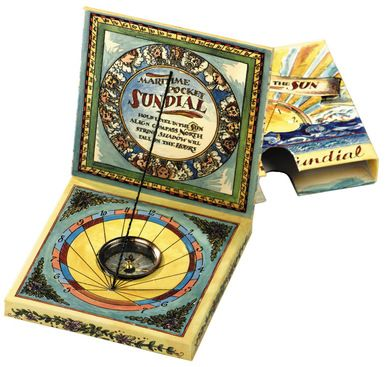 Photo of Authentic Models MS019A Maritime Pocket Sundial