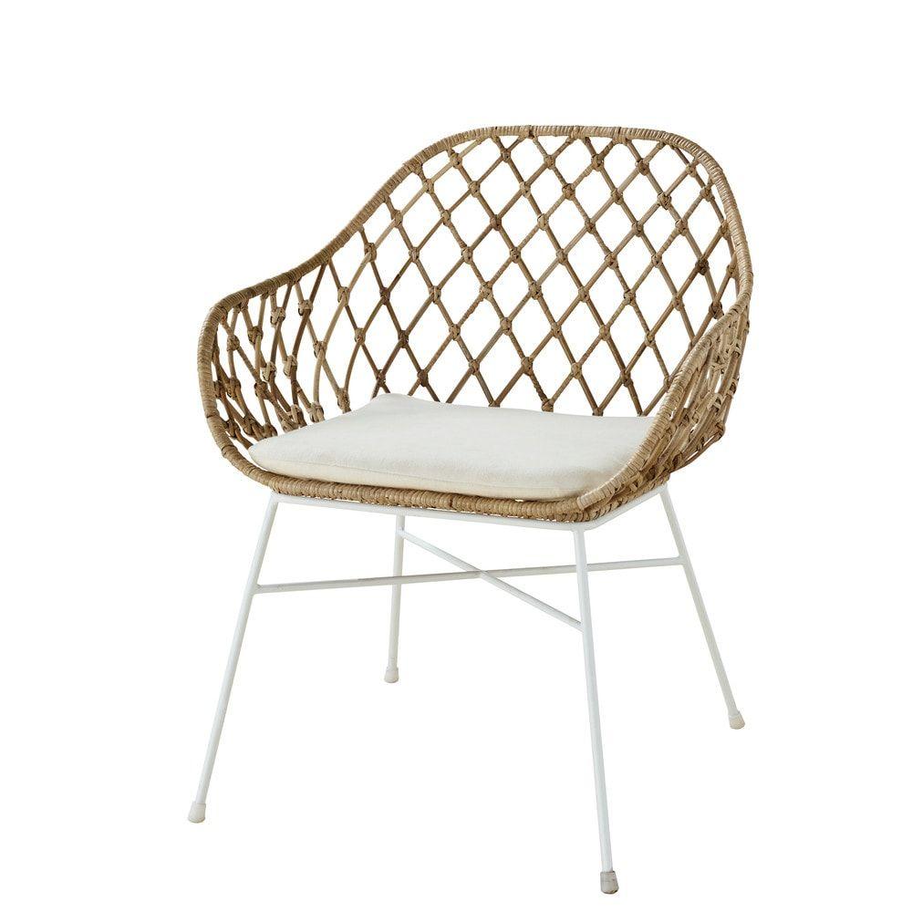 Maison Du Monde Fauteuil Rotin geflochtener rattansessel | fauteuil rotin, chaise rotin et