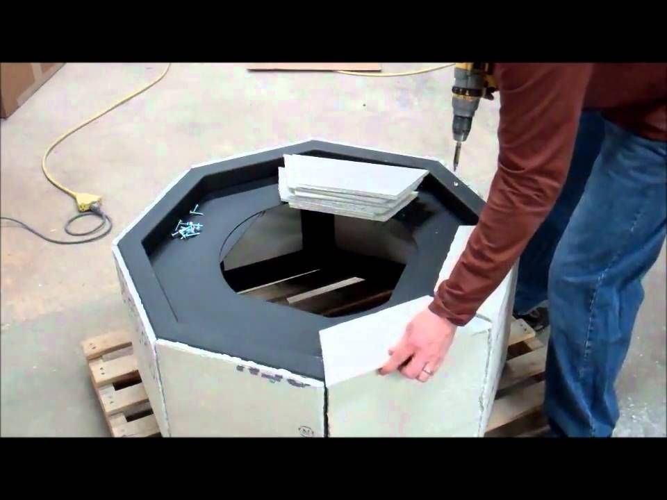 Diy Instructions How To Build A Gas Fire Pit Diy Gas Fire Pit