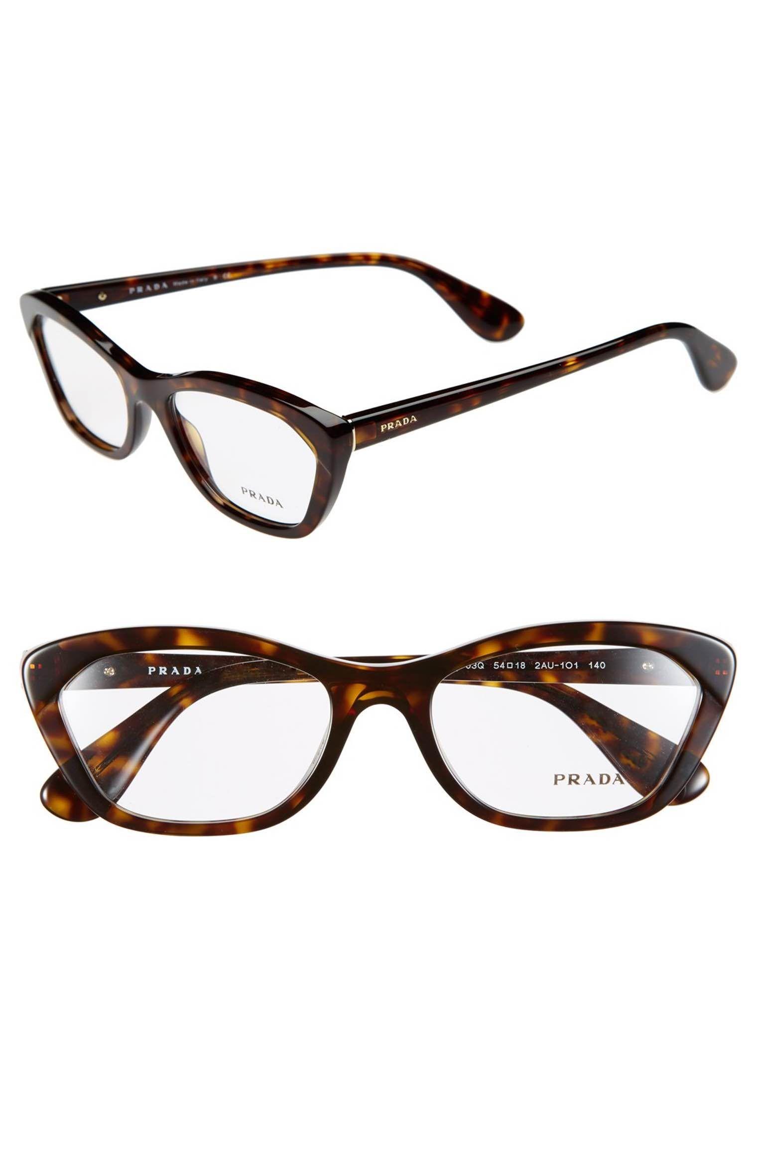 Main Image - Prada 54mm Cat Eye Optical Glasses (Online Only ...