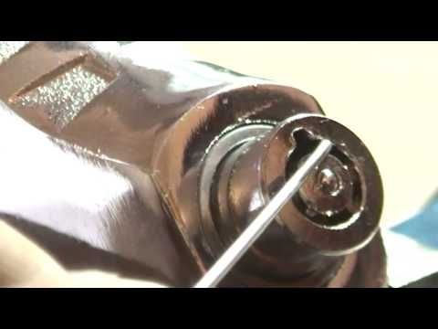 tubular lock 7 pins with homemade pick tools - http://videos.silverjewelry