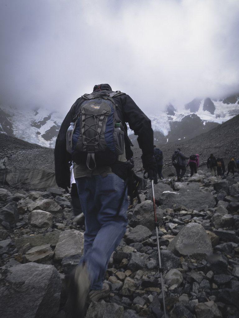 Hiking Up Laughton Glacier In 2020