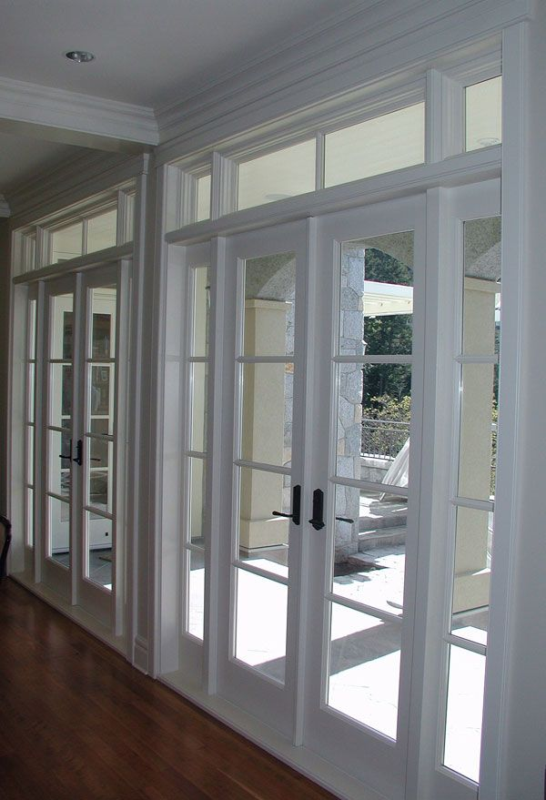Dinning room or master suit a home up north in 2019 - Exterior french doors with sidelights ...
