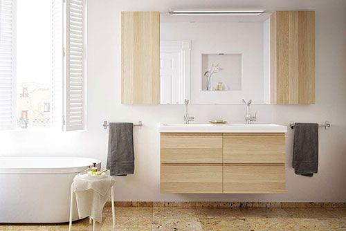 Badkamermeubel dubbele wasbak google zoeken badkamers ikea
