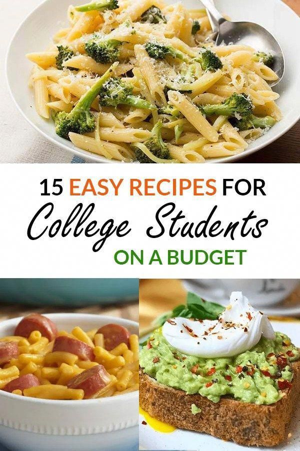 15 Easy Recipes For College Students On A Budget images