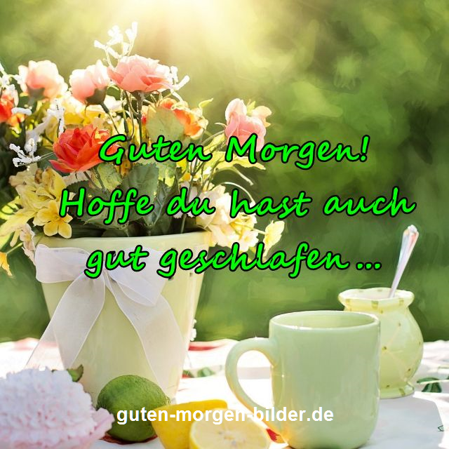 Photo of Einen schönen guten Morgen