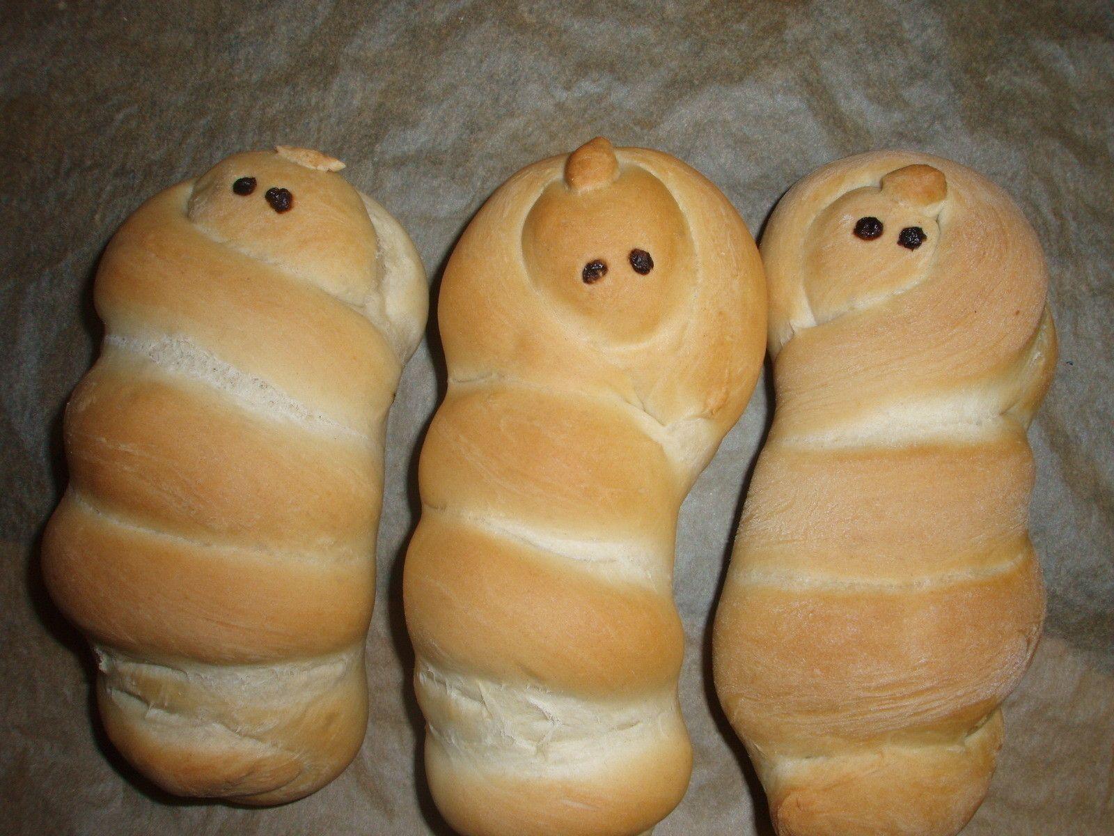 Baby Jesus Bread Buns
