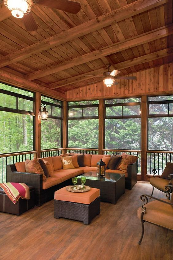 Back Porch Additions Best Ideas About Room Additions On House Additions Interior Designs: 20 Wonderful Skylights In Living Room & Star Decorating In 2020 (With Images)