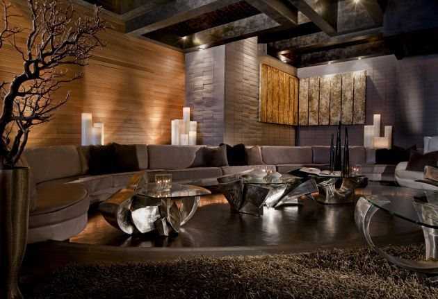 My House Nightclub by Dodd Mitchell Design Living room Pinterest