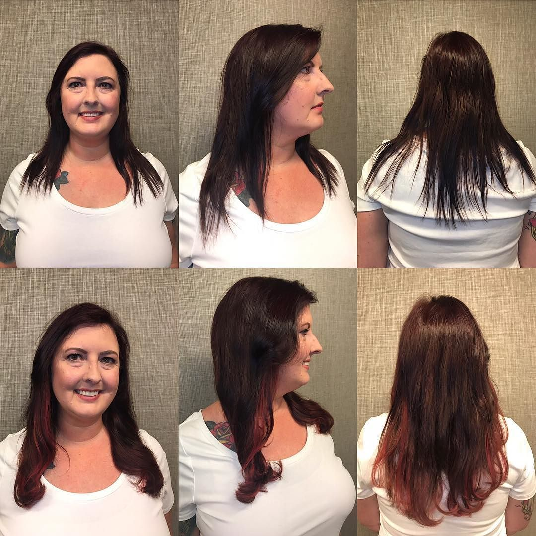 Before And After Extensions Are Not Just For Length Watch Flat