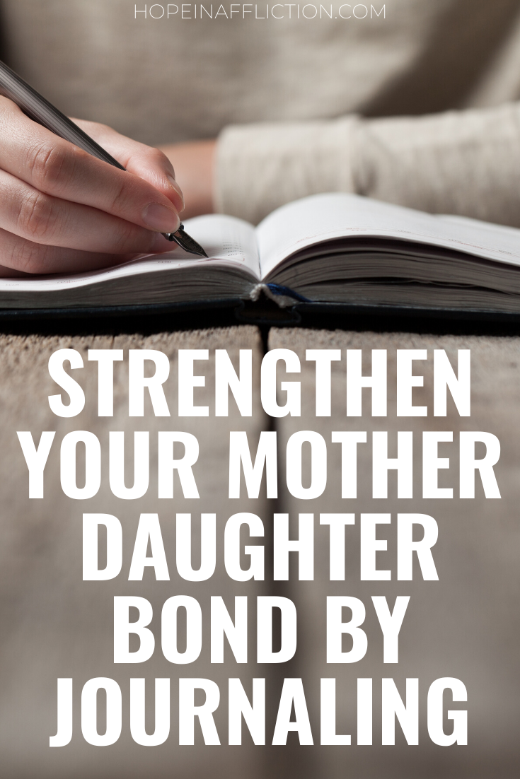 Having a close mother and daughter relationship is important. If you want to strengthen your bond with your daughter and improve your relationship, try implementing a mother and daughter journal. Here are 5 reasons you should start journaling with your daughter now. #raisingdaughters #parenting #parentinghacks #raisingkids #motherdaughter #momlife #family