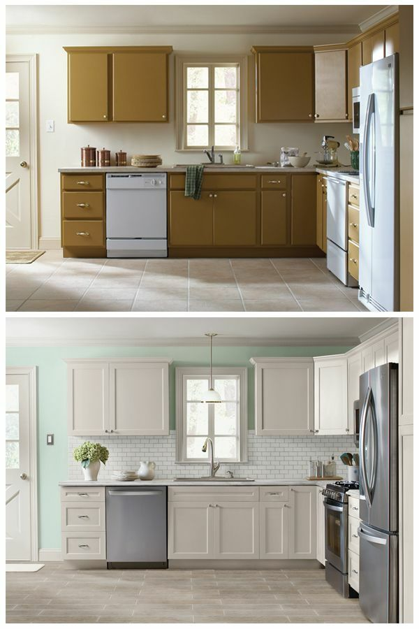 k che erneuern kleine k che einrichten k chenrenovierung sch nes wohnen pinterest kitchens. Black Bedroom Furniture Sets. Home Design Ideas