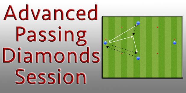 Advanced Soccer Passing Diamonds Session Http Coachestrainingroom Com Advanced Passing Diamonds Free 7 Defend Soccer Coaching Soccer Drills Soccer Training