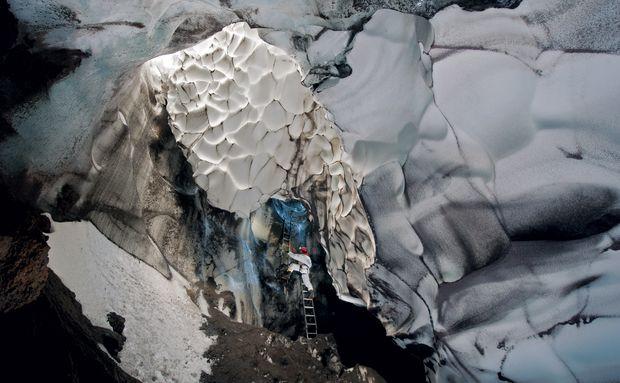 Caverna Warren, Antártida