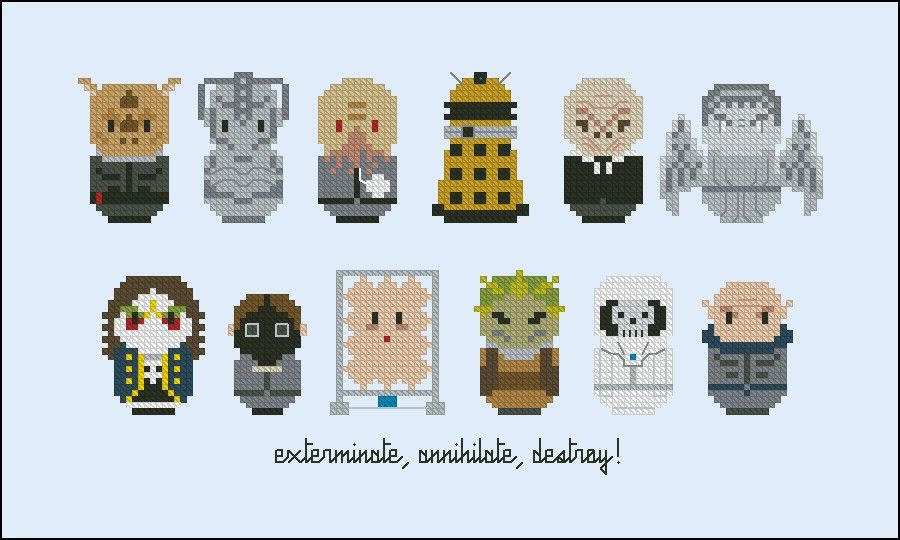doctor who villains