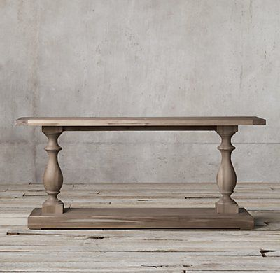 17th C Monastery Console Table With Images Wood Console Table