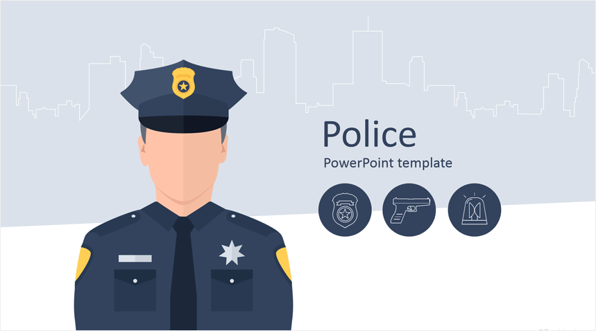 Police Powerpoint Template Powerpoint Templates Powerpoint Police