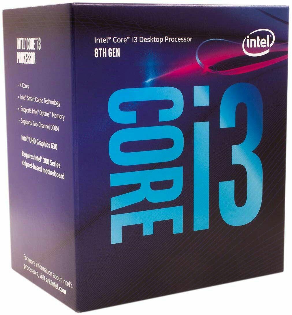 Computer Components And Parts 175673 Intel Core I3 8100 Coffee Lake Quad Core 3 6 Ghz Lga 1151 300 Series 65w Bx806 Buy It Now Intel Core Intel Processor