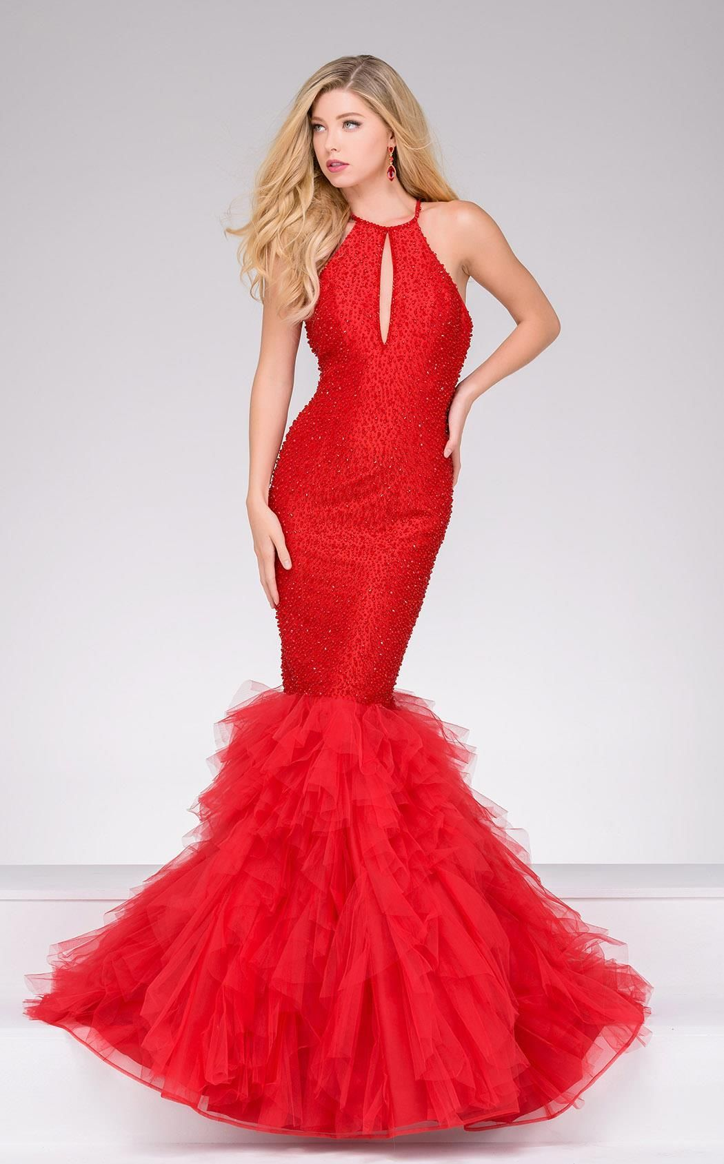 Jovani mermaid silhouette and products