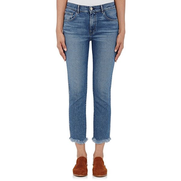 cropped frayed detail jeans - Blue 3x1 Cheap Best Sale RGFHCS