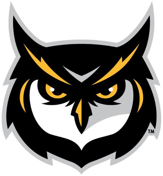 Kennesaw State Owls Alternate Logo 2012 Logo Hewan Binatang Burung Hantu
