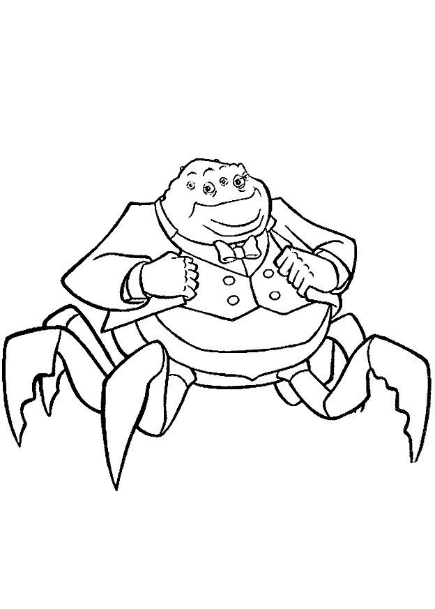 Monsters Inc. - University Coloring Pages 1 | Coloring pages for ...