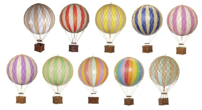 Authentic Models Hot Air Balloon Replica Small