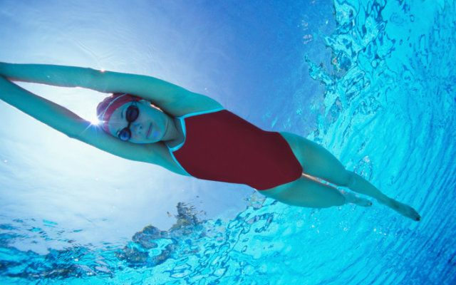 3 Major Health Benefits of Swimming 1. Muscle Tone 2. Improved Flexibility  3. Weight Control