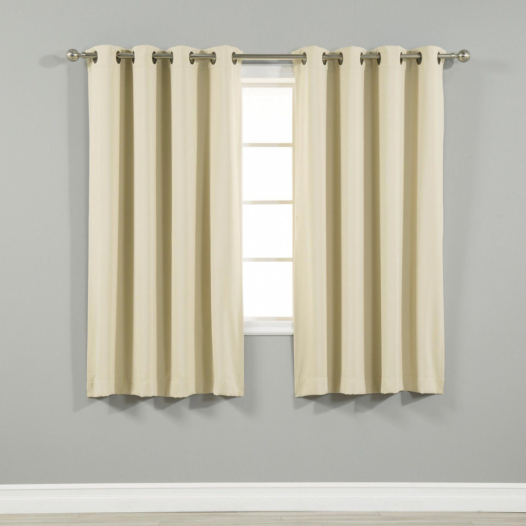 Best Home Fashion Thermal Grommet Blackout Curtain Grom 108