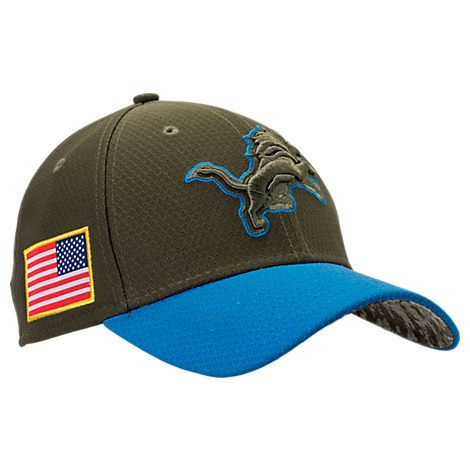 73ae8c035530a NEW ERA DETROIT LIONS NFL SALUTE TO SERVICE 39THIRTY FITTED HAT.  newera