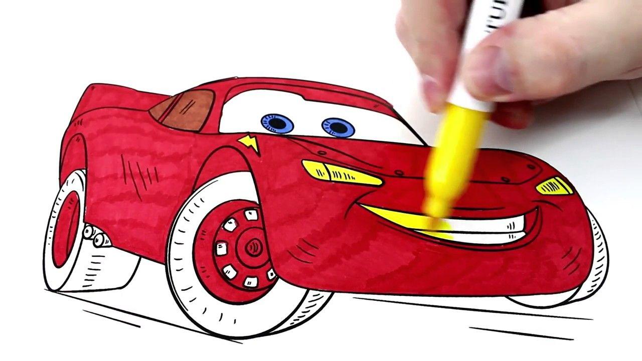 تعلم كيفية رسم وتلوين سيارة كرتون كار الشهيرة للاطفال كرتون اطفال Youtube Video