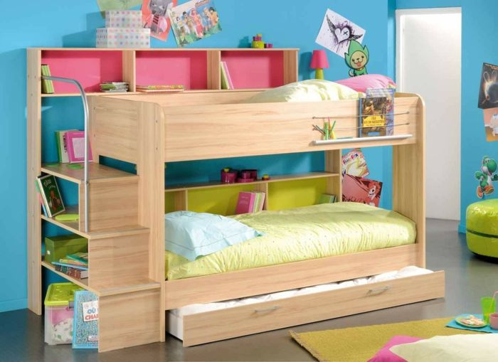 Etagenbetten Kinderzimmer : 53 etagenbetten die perfekte lösung fürs kinderzimmer wenn sie
