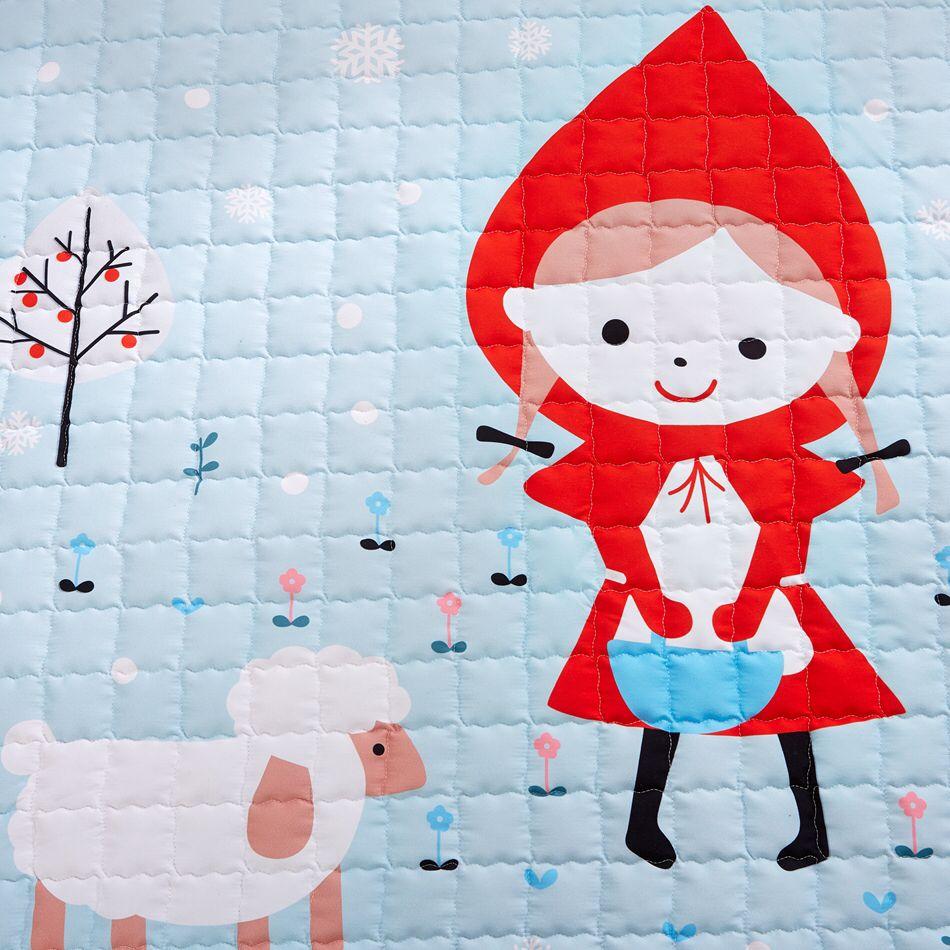 Floor mats to sleep on - Fairy Tale Little Red Riding Hood Children Play Mat Floor Mat For Living Room Or Outdoor Floor Mat For Sleeping Door Mat