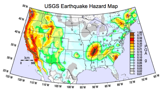 Is Earthquake Insurance Worth It Earthquake Insurance In NH - Fault line map us
