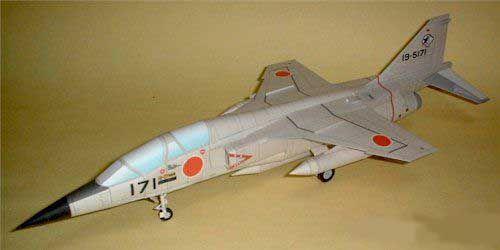 mitsubishi t2agr free aircraft paper model download