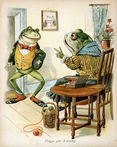 Frog_Went_A-Courting characters - Google Search