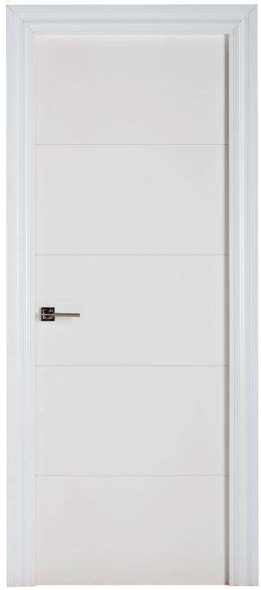 Puerta lacada blanca tesesa mi casa puertas entrada e for Lacar puertas en blanco