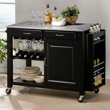 portable kitchen cart beach cabinets island interesting things pinterest