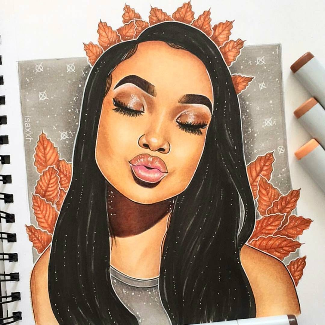 Art Curator Artcodecollective Random Mishaness On Instagram Artist Isaxxh Art Scribble Sketch Doodle Drawing Art Drawings Black Girl Art Art Girl