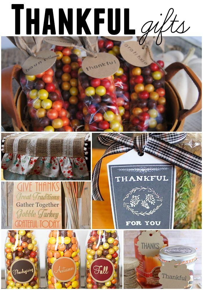 Thankful Thanksgiving Gifts