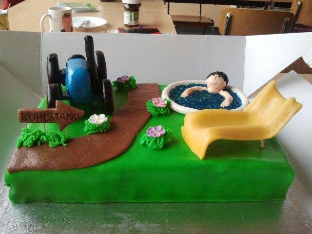 Ruhestand Torte Ruhestand Kuchen Kuchen Ideen Geburtstag Kuchen