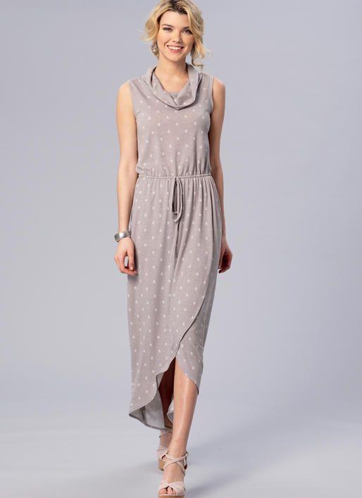 Learn to Sew maxi dress pattern from Kwik Sew. K4171 Misses\' Elastic ...